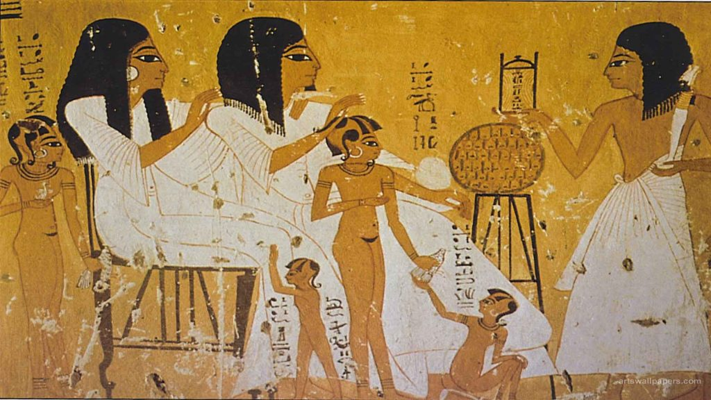 tomb-painting