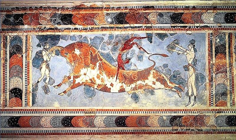 bull-leaping-women
