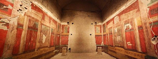 Paintings in Augustus' House
