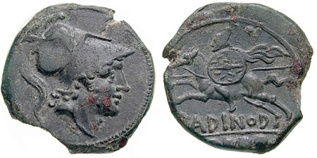 Roman Coins Issued during the War