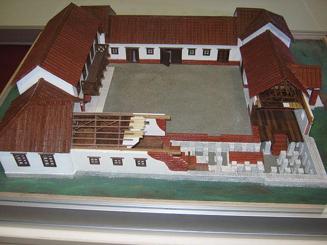 Roman Villa Rustic Model