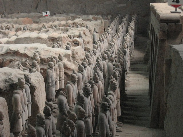 The Terracotta Army Pit