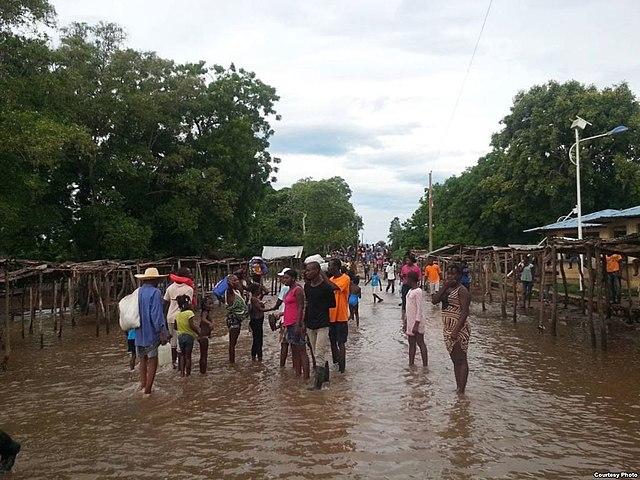 Flood After a Hurricane