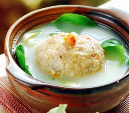 Traditional Meatball Soup